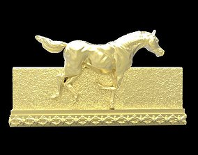 horse Galloping Horse in reliefs 3D print model