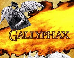 3D print model DRAGON Gallyphax The Swamp Pain