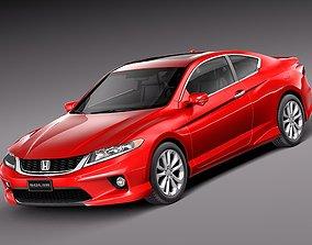 3D Honda Accord Coupe 2013