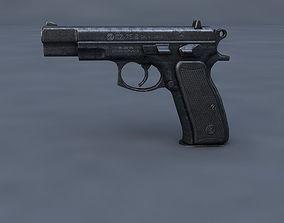 CZ 75 Shadow 3D model