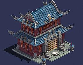 Gang - tactical institute 3D model