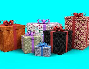 Bift Box Collection 3D model