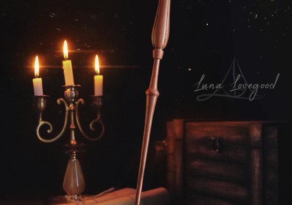 Luna Lovegood Wand - Harry Potter