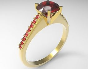 engagement 3D print model Ring