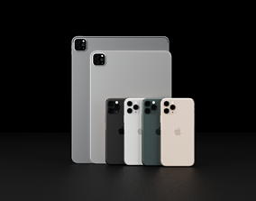 3D Apple iPhone 11 Pro and iPad Pro 2020 In All Official