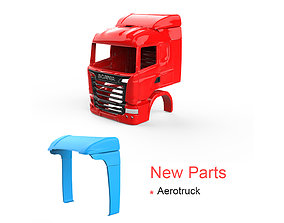 3D printable model Scania R730 V8 - New Part - Aerotruck
