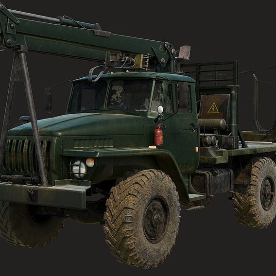 Russian Truck Ural 4320