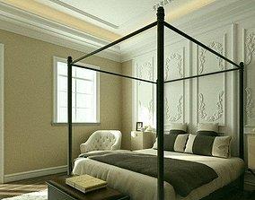 Bedroom 3D furniture sofa