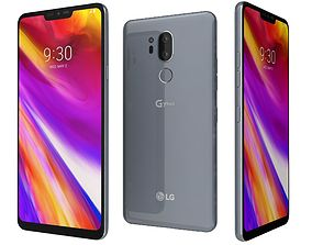3D LG G7 ThinQ Platinum Gray