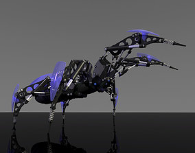 Spider Rigged 3D
