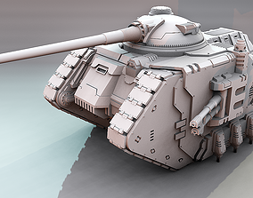 3D printable model Artemis Battle Tank