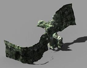 3D Huaguoshan - sidewall cave