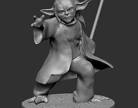 Young Master Yoda 3D print model