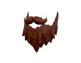 Beard 3D hipster