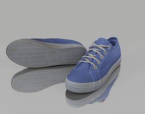 Summer shoes 3D asset