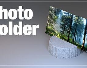 Wood Photo Holder 3D print model