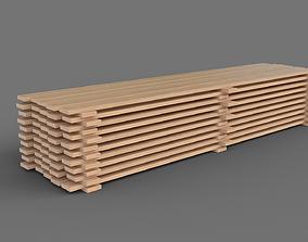 wood Wood planks 3D model