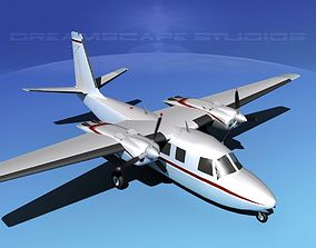 3D Rockwell Aero Commander 560 V07
