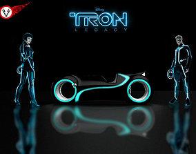 TRON Bike 3D model