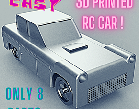FULLY 3D PRINTED RC CAR formula-1