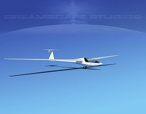 Glaser Dirks DG-200 15-metre Sailplane 3D model