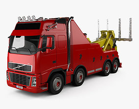 3D model Volvo FH Tow Truck 2008