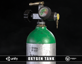 Oxygen Tank 3D asset realtime