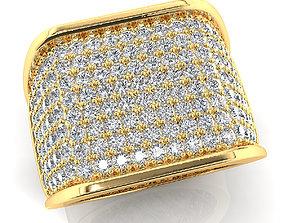 3D printable model luxury Mens ring