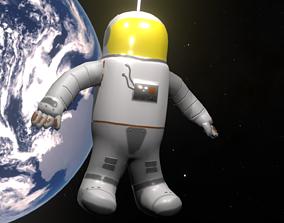 3D model Astronaut Lo-Poly PBR