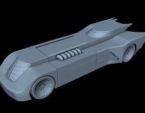 3D print model Animated Series Batmobile