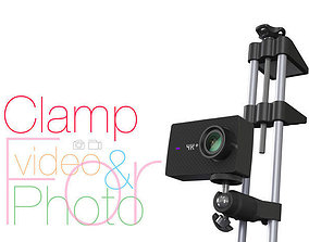 Clamp for vertical use Photo and video 3D print model