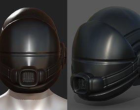 3D asset Gas mask helmet scifi fantasy armor hats 2