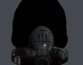 GAS MASK PROTECTION 15 3D asset