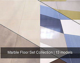 covering Marble Floor Set Collection 3D model