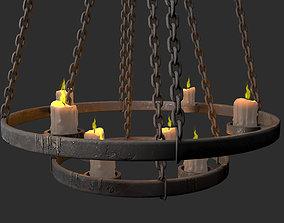 medieval chandelier 3D model