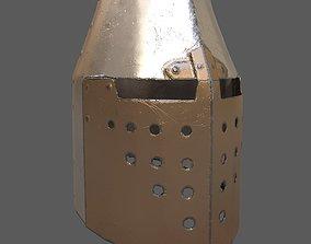 Templar Helmet 3D asset