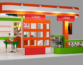 3D Agricultural products booth