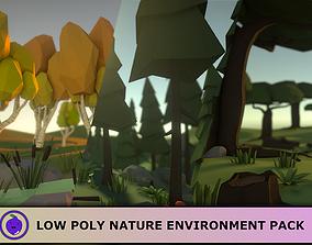 Low Poly Vegetation Pack 3D asset