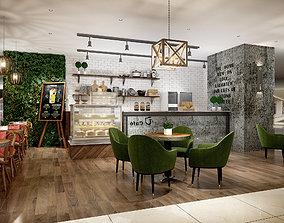 coffee house akery bake house 3D