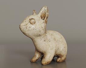 Bunny sculpture 3D model