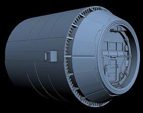 3D Starship Detail 13