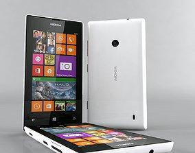 Nokia Lumia 525 whita 3D model