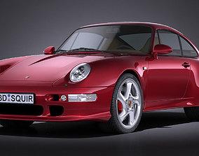 Porsche 911 993 Turbo 1995 VRAY 3D