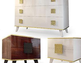 Dresser nightstand Diora Furniture Yartsevo 3D