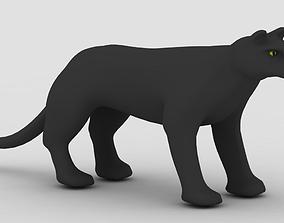 3D Panther mammal