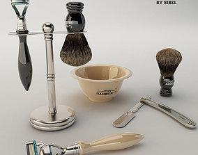 3D model Barburys Beard care set