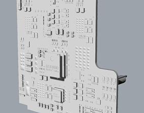 Circuit board 3D print model