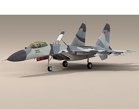 3D model su-27s Su-27 Flanker