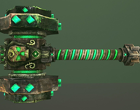 Hammer undead 3D model