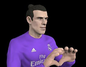 3D print model Gareth Bale full figurine textured